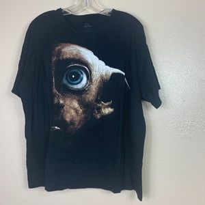 Dobby Harry Potter black tee